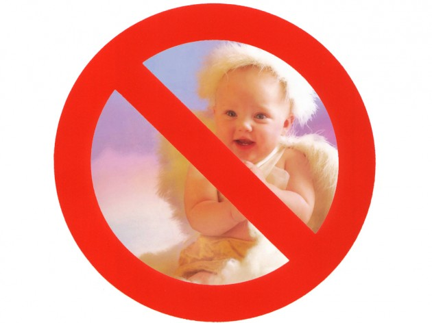 Say No to Cute Baby Pictures
