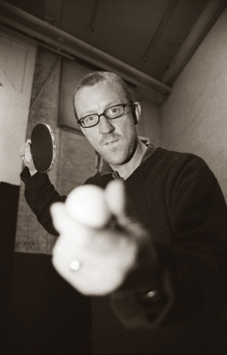 David Rowntree backstage at Brixton Academy 2003