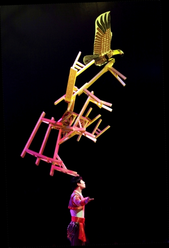 Balancing Chairs at the Chinese State Circus