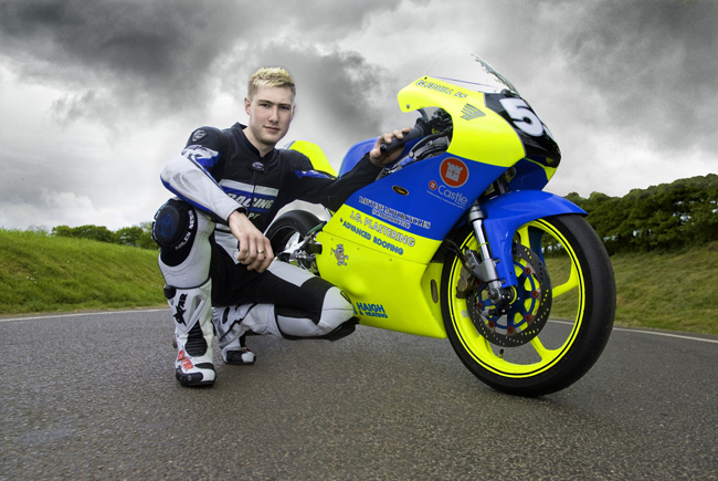 Press shot for Moterbike Competition Racer