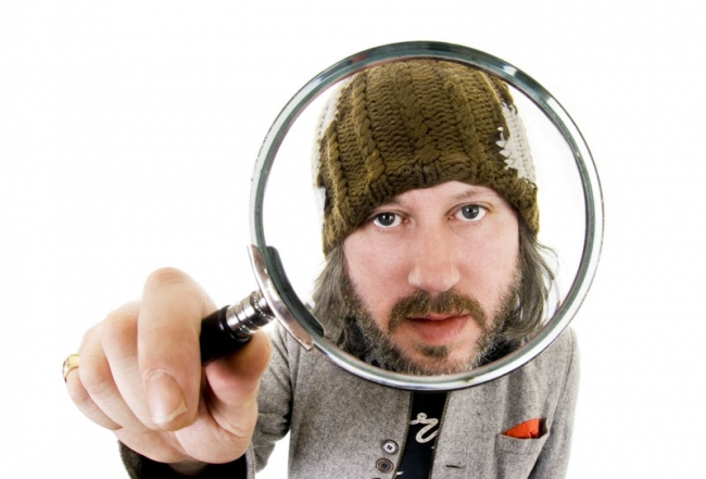 Picture shows: Exclusive studio photoshoot with Damon Gough (Badly Drawn Boy) taken in Scarborough, North Yorkshire on October 16 2010. Non-Exclusive World Rights *Unbylined uses will incur an additional discretionary fee!*