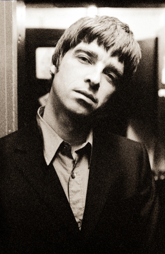 Oasis Guitarist Noel Gallagher Backstage at the Astoria in London.