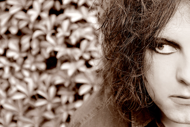 The Cure frontman Robert Smith photographed in London.